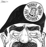 Steve Nease Editorial Cartoons: Bonnie Brown for President