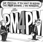Steve Nease Editorial Cartoons: PM for PM