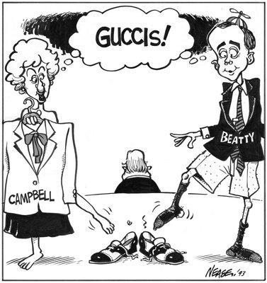 Steve Nease Editorial Cartoons: Guccis!