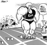 Steve Nease Editorial Cartoons: A Campbell Sample