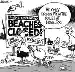 Steve Nease Editorial Cartoons: Beaches Closed!