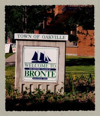 Welcome to the Historic Village of Bronte