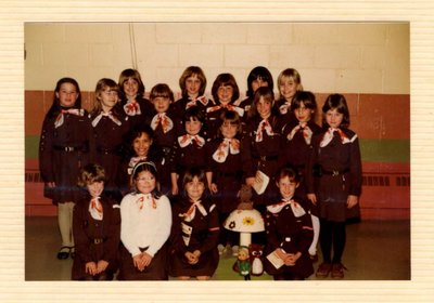Coronation District Girl Guides, Woodside Library (1980)