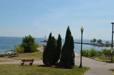 View of Oakville Pier