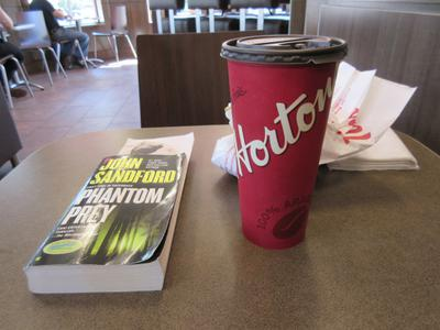 At Tim Hortons