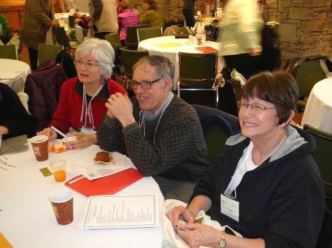 Master Gardeners at a Technical Update