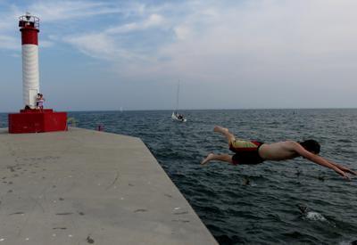 Boy Dives Off Oakville Pier