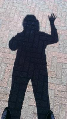 Shadow Selfie!!