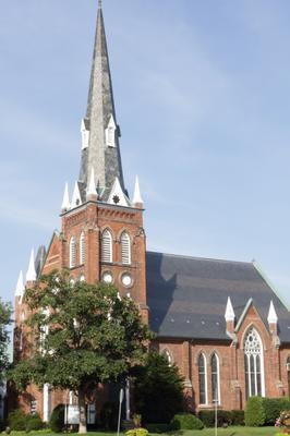 A church in Oakville downtown
