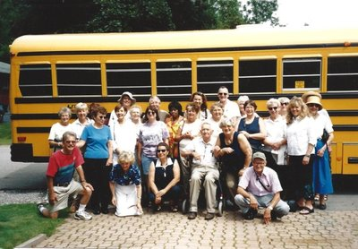 Bronte Horticultural Society's first bus trip (2004)