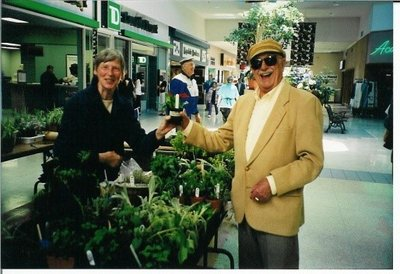 Plant sale at Hopedale Mall (2002)