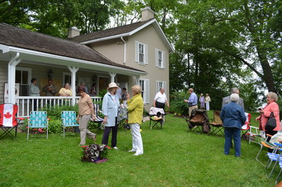 Bronte Horticultural Society 90th Anniversary potluck gathering