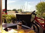 Having a bike break Oakville 28 JUL 2015