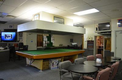 Bronte Legion pool table