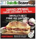 Oakville Beaver, 10 Dec 2015