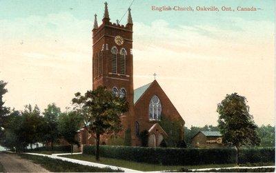 """The English Church"" St. Jude's Church, Oakville, Ont."