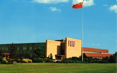 The Ford Motor Company's Plant Office