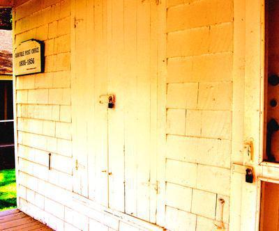 Oakville's First Post Office