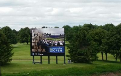Glen Abbey GC - Sign