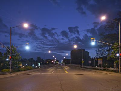 Lakeshore Road Early Morning