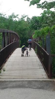 Nipegon Trail Bridge - Bikes