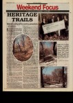 Heritage trails : network a living gift to coming generations