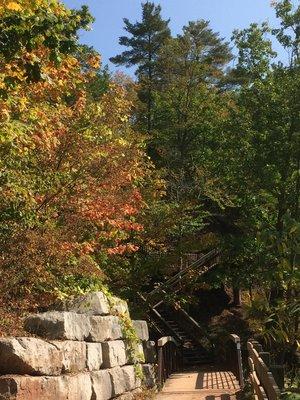 16 Mile Creek steps