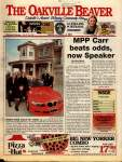 Oakville Beaver22 Oct 1999