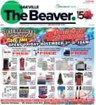Oakville Beaver, 2 Nov 2017