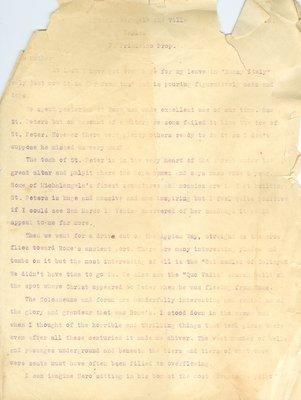 Allan Davidson Letter, April 22, 1918