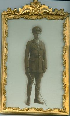 Framed Photograph of Allan Davidson