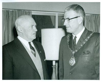 Mayor Mclean Anderson and Lt/Gov. Rowe