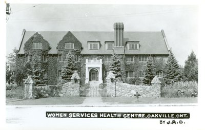 Oakville Women Services Health Centre Postcard
