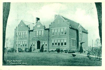 Oakville High School Postcard