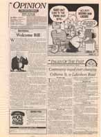 Pages of the Past : a look back at the events that made headlines in Oakville : Controversy raged over changing Colborne St. to Lakeshore Road