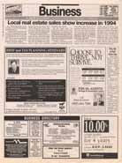 Local real estate sales show increase in 1994