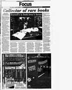 Collector of rare books : Boswell's is book lover's haven
