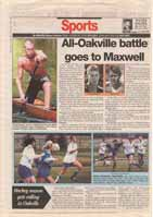 All-Oakville battle goes to Maxwell