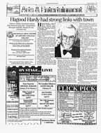 Hagood Hardy had strong links with town