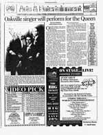 Oakville singer will perform for the Queen