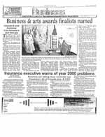 Business & arts awards finalists named : corporate & small business to be honoured at April 22nd gala