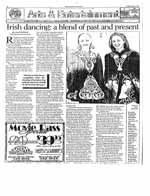 Irish dancing : a blend of past and present