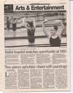 Ballet hopeful snatches opportunity at NBS