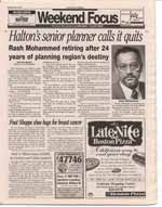 Halton's senior planner calls it quits : Rash Mohammed retiring after 24 years of planning region's destiny
