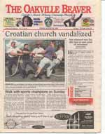 Croatian church vandalized : Nun witnessed man flee after bust of saint pried off monument