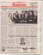 Oakville businesses rewarded for excellence