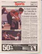 A clean sweep for Oakville in Halton finals : St. Bernadette's wins boys title