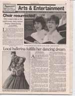 Local ballerina fulfills her dancing dream