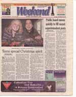 Teens spread Christmas spirit