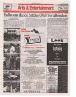 Ballroom dance battles OWF for attendees